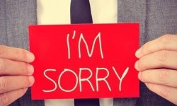 How to apologise in the media