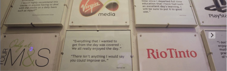 Media Training testimonials