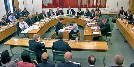 select committee appearance